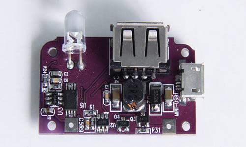 移动电源升压板